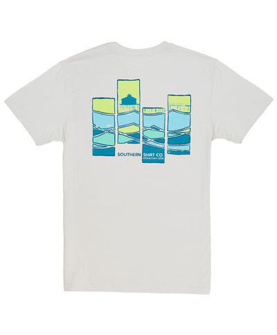 Southern Shirt Co - Abstract Waves Tee