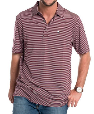 Southern Shirt Co - Westbrook Stripe Polo