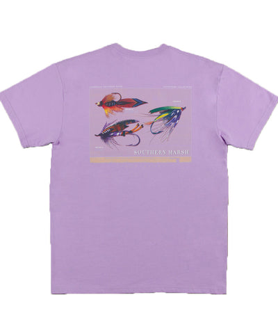 Southern Marsh - Outfitter Series Tee: Collection 1 - Wharf Purple