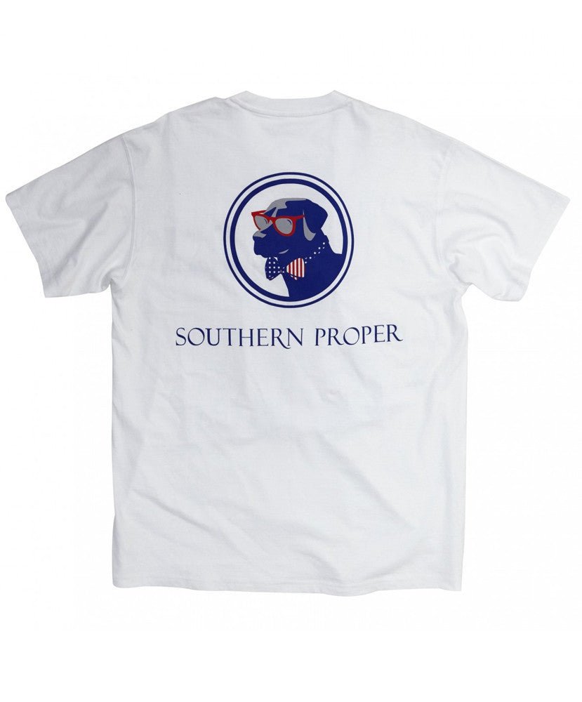 Southern Proper - Old Glory Lab Tee