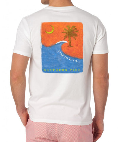Southern Tide - Tide to Trail T-Shirt - White Back