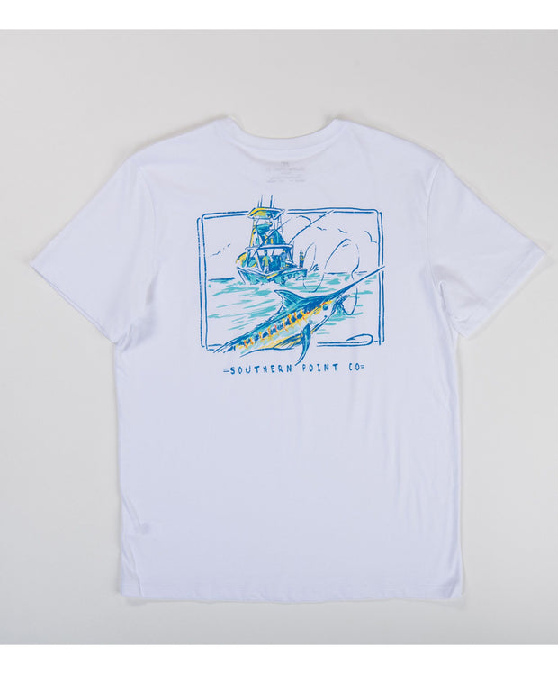 Southern Point - Fishing Marlin Signature Tee