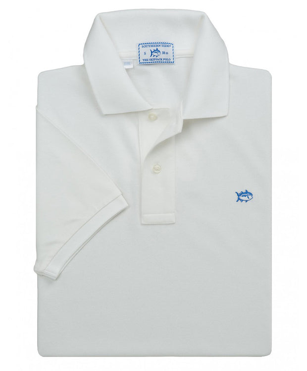 Southern Tide - Classic Skipjack Polo - White