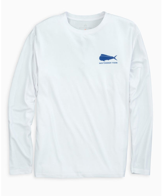 Southern Tide - Original Skipjack Mahi Mahi Long Sleeve Performance Tee