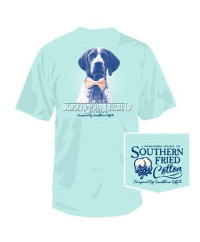 Southern Fried Cotton - Winston SS Pocket Tee - Chalky Mint