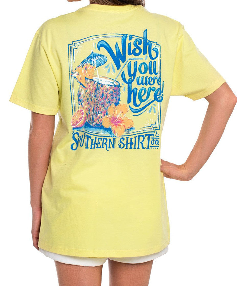 Southern Shirt Co - Wish You Were Here Tee
