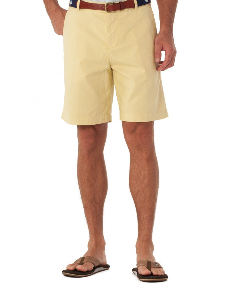 Southern Tide - Pinpoint Oxford Short - Sunshine
