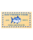 Southern Tide - Skipjack Beach Towel - Yellow