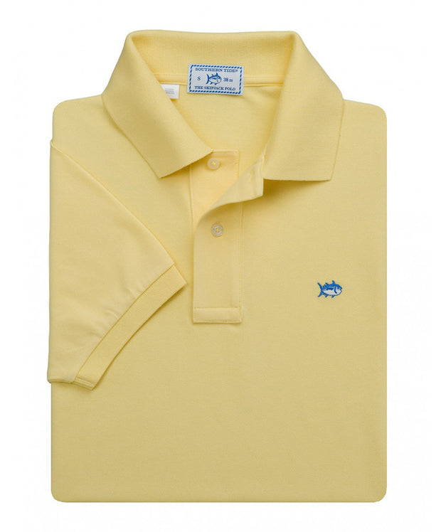 Southern Tide - Classic Skipjack Polo - Yellow