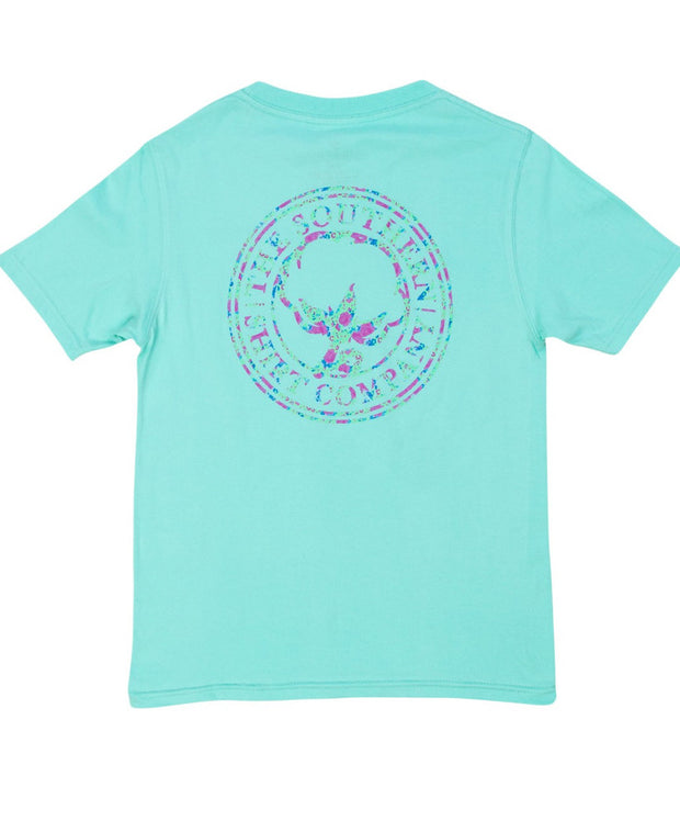 Southern Shirt Co - Youth Flower Logo Tee