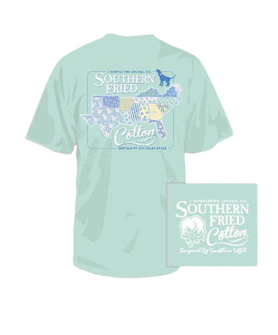 Southern Fried Cotton - Youth Sucker for the South Tee
