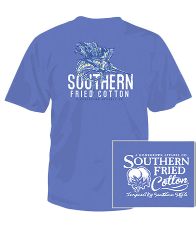 Southern Fried Cotton - Youth Southern Sail Fish Tee