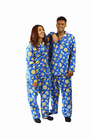 Pizza Party Flannel Pajama Set