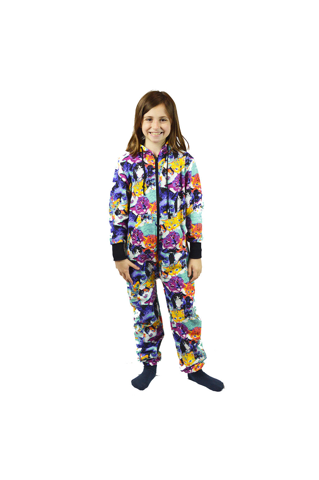 Oh My Paws and Whiskers Hoodie Suit - Kids