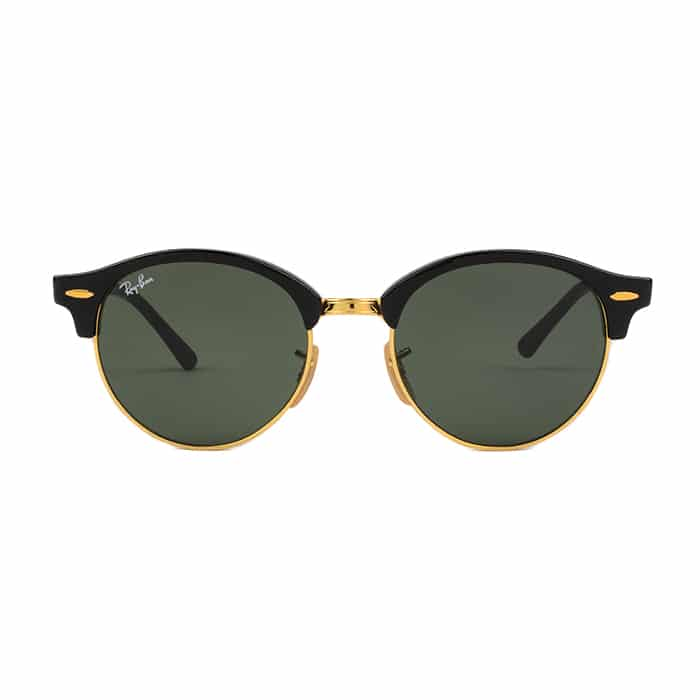 Ray-Ban Sunglasses RB4246 901 51 Club Round Black