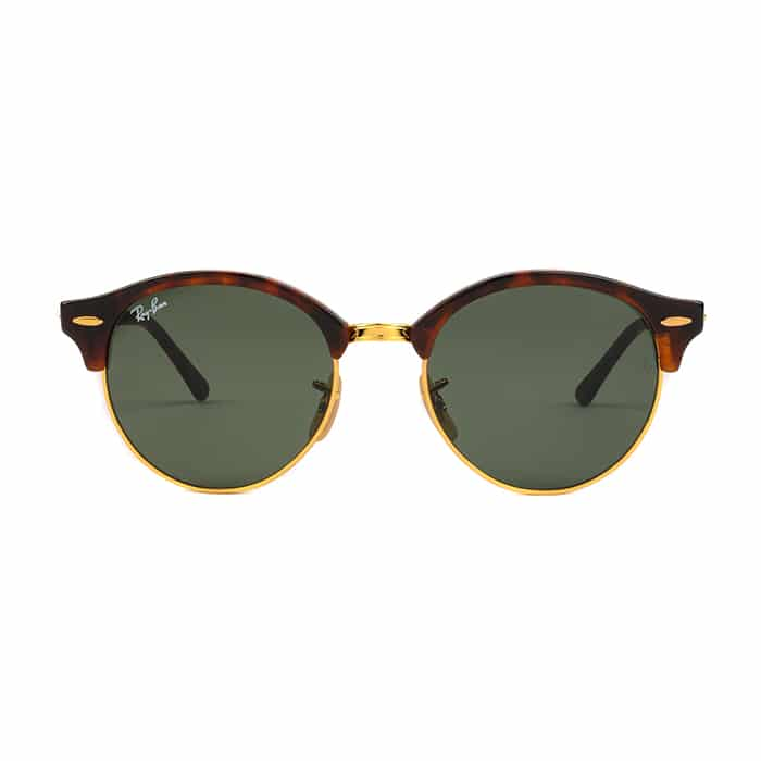 Ray-Ban Sunglasses RB4246 990 51 Club Round Red Havana