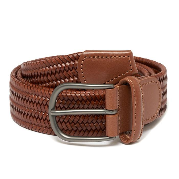 Andersons A2915 Braided Leather Belt Brown