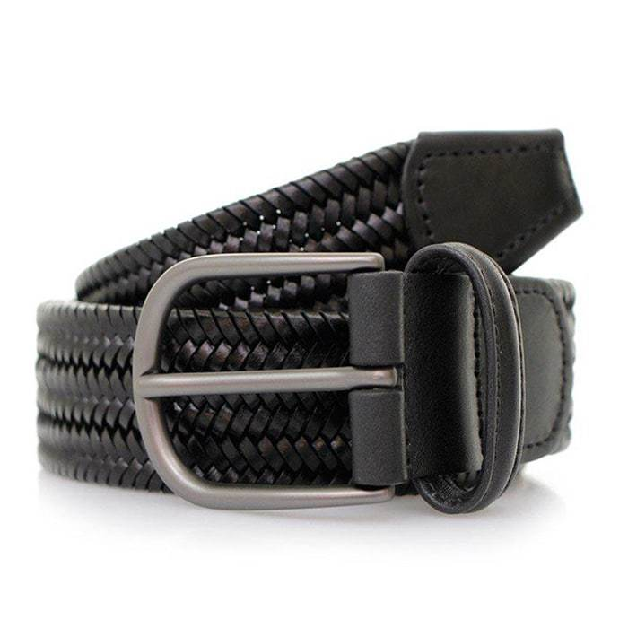 Andersons Braided Belt Black