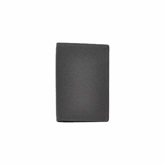 Andersons Leather Card Wallet Grey