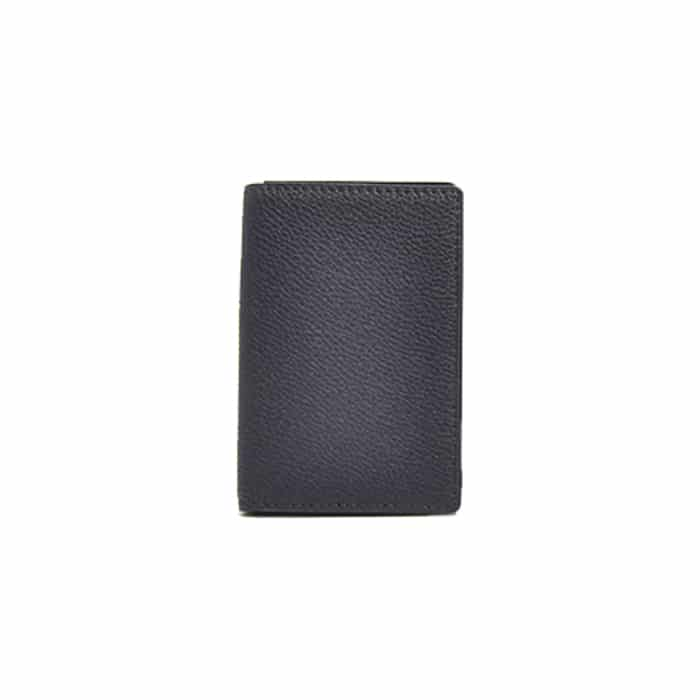 Andersons Leather Card Wallet Navy