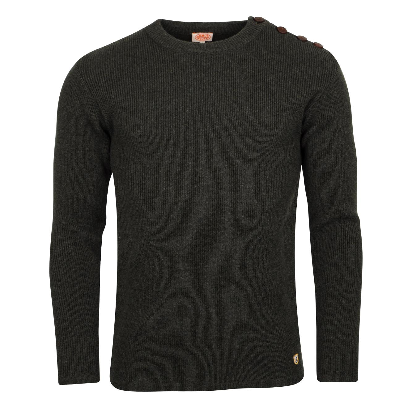 Armor Lux Fishermans Lambswool Knit Aquilla Chine 3