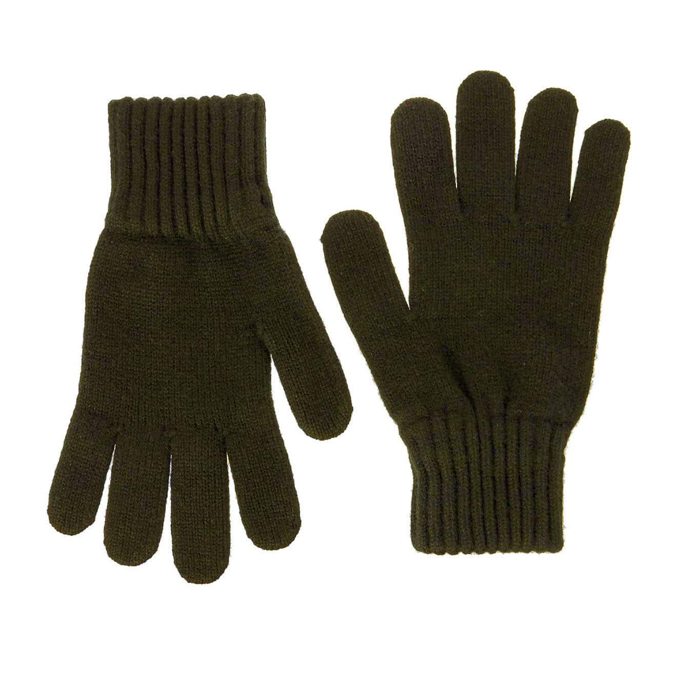 50c116ee0322d Barbour Lambswool Gloves Olive - Parasol Store