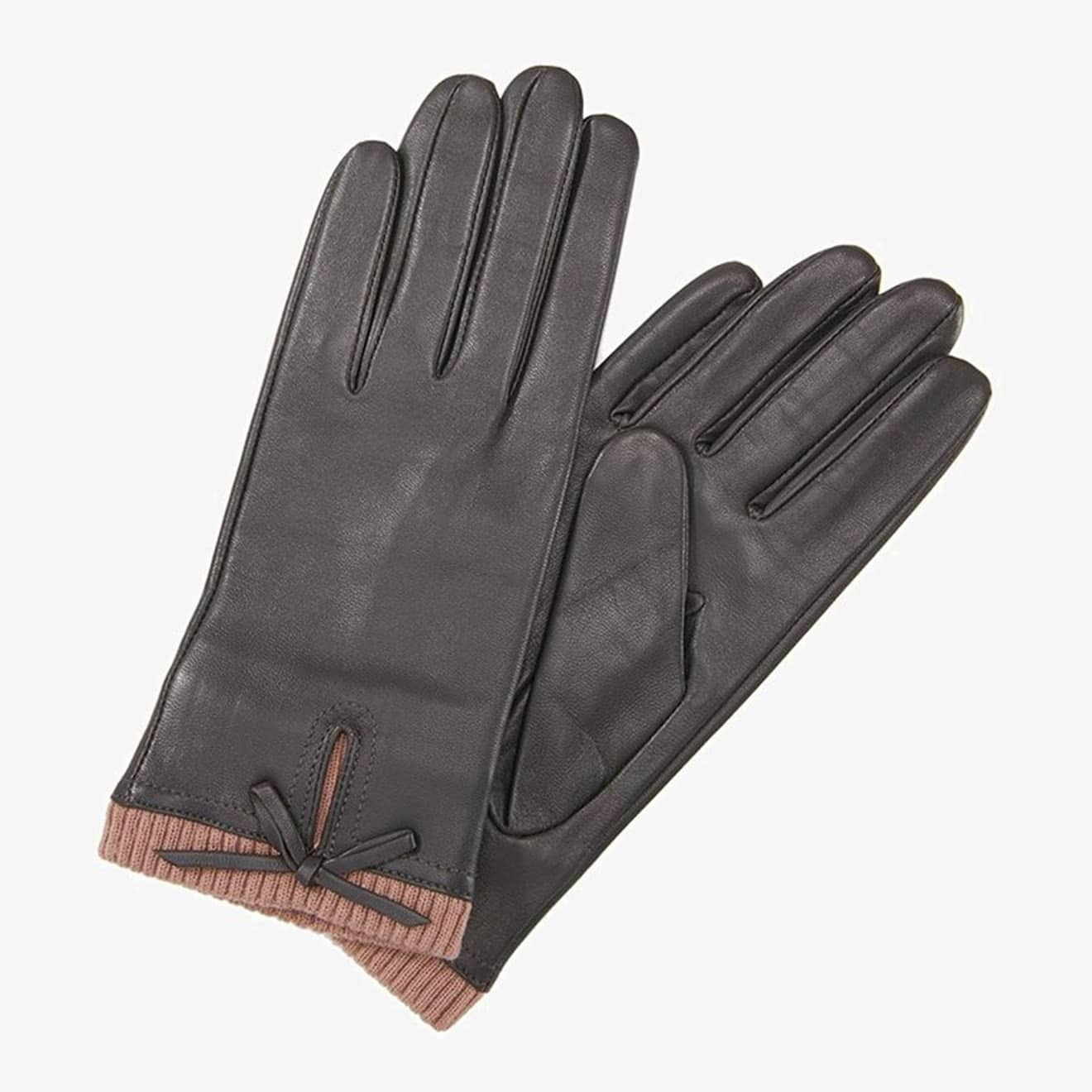 Barbour Womens Dovedale Gloves Grey