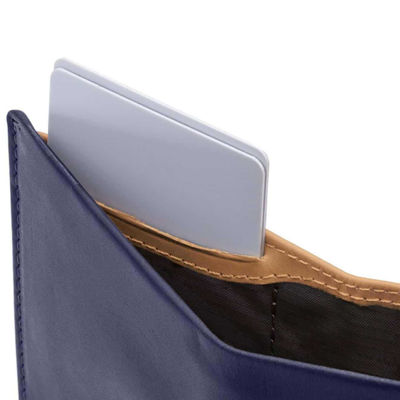 1f81c57581 Bellroy Note Sleeve Wallet Navy RFID - Parasol Store