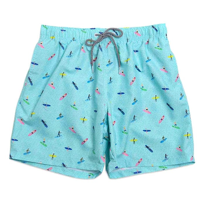 Boardies Sayulita Surf Swim Shorts Turquoise