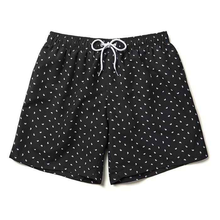 Boardies Yin Yang Swim Shorts Black White