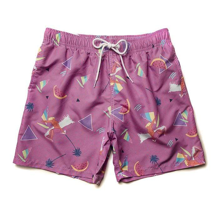 Boardies Yoko Honda Surf Swim Shorts Purple