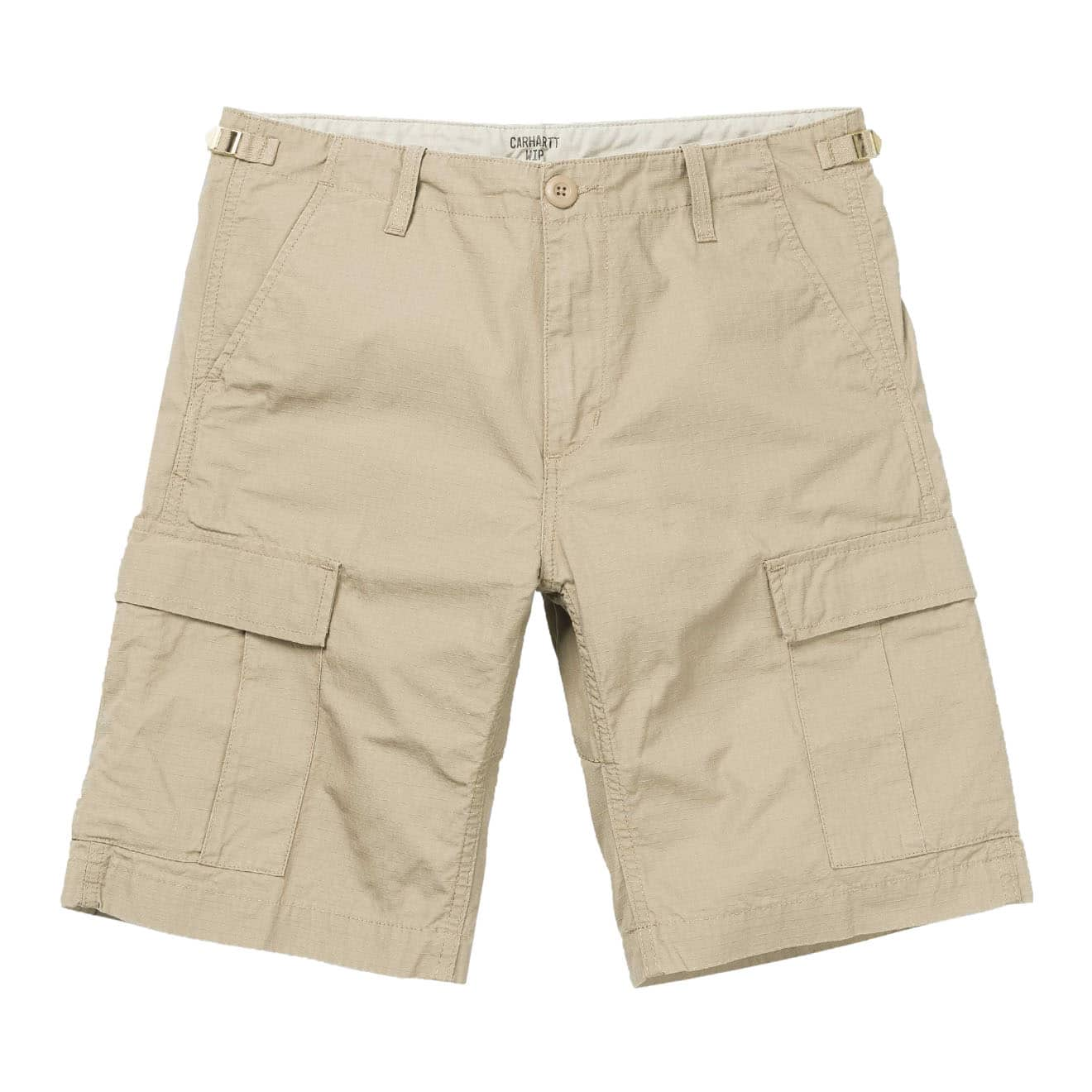 Carhartt Aviation Shorts 100% Cotton Leather Rinsed