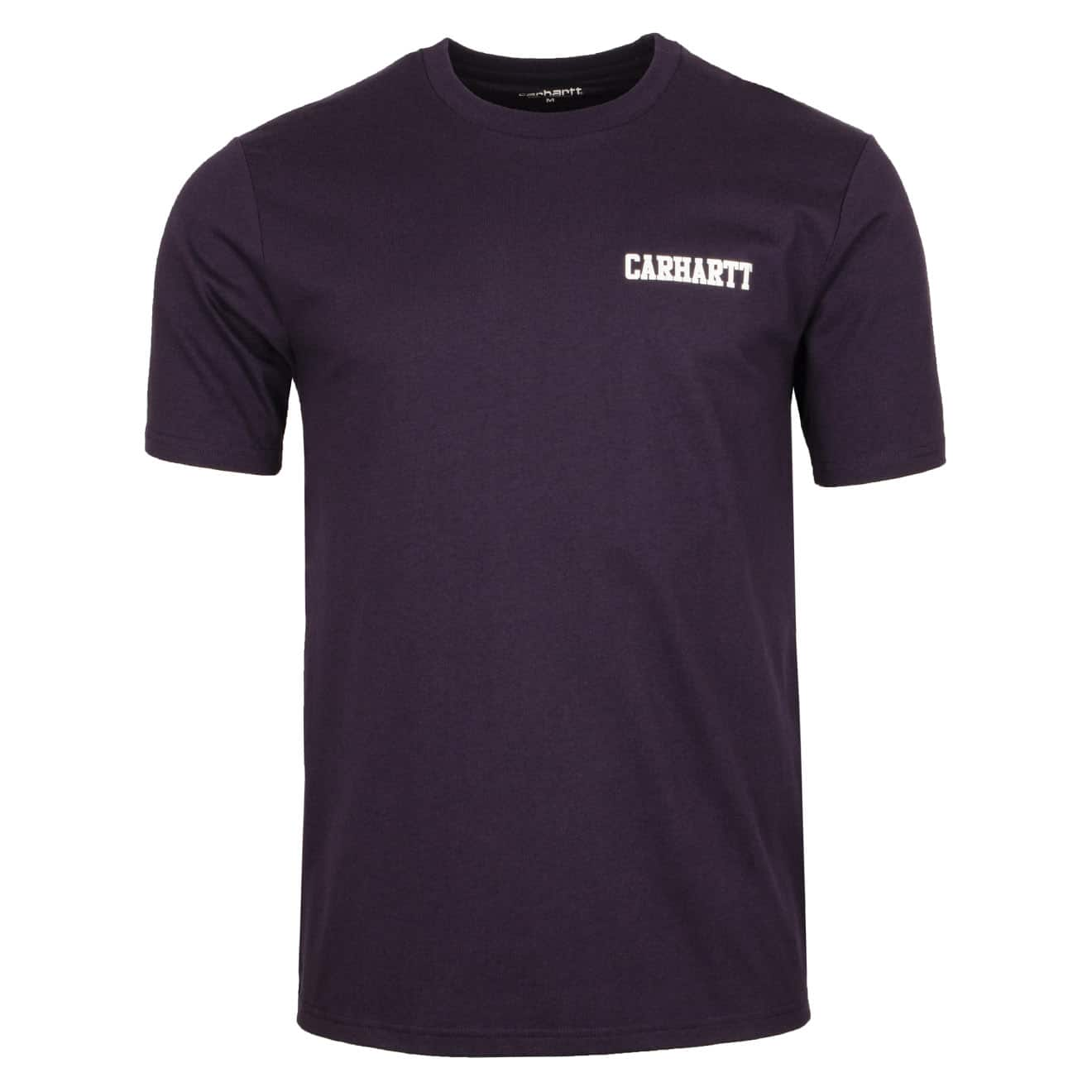 Carhartt College Script T-Shirt Lakers / White