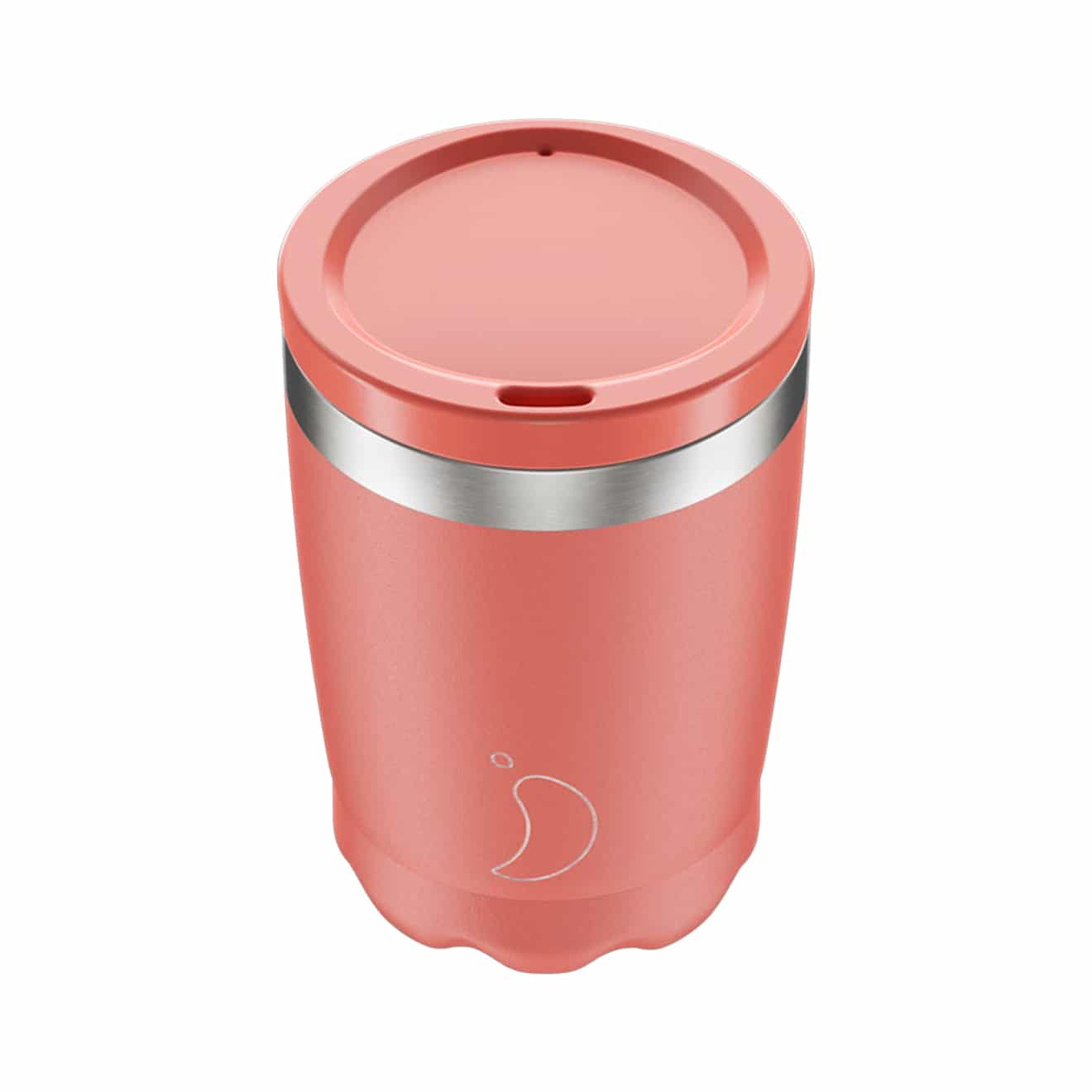 Chillys 340ml Coffee Cup Pastel Coral 2019 Parasol Store