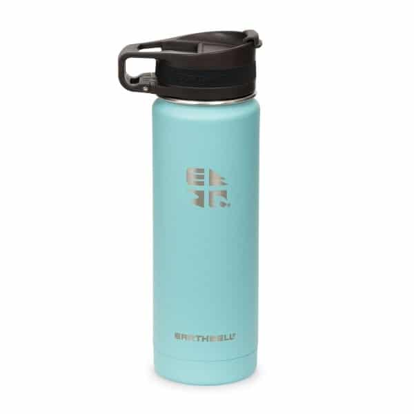 Earthwell 20oz _ 59cl Roaster Loop Vacuum Bottle Aqua Blue