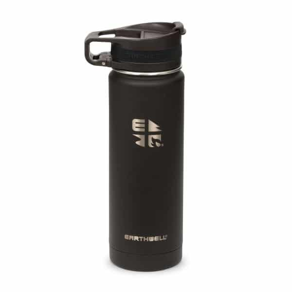 Earthwell 20oz _ 59cl Roaster Loop Vacuum Bottle Volcanic Black