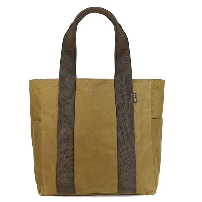 Filson Grab N Go Tote-Medium DkTanBrown