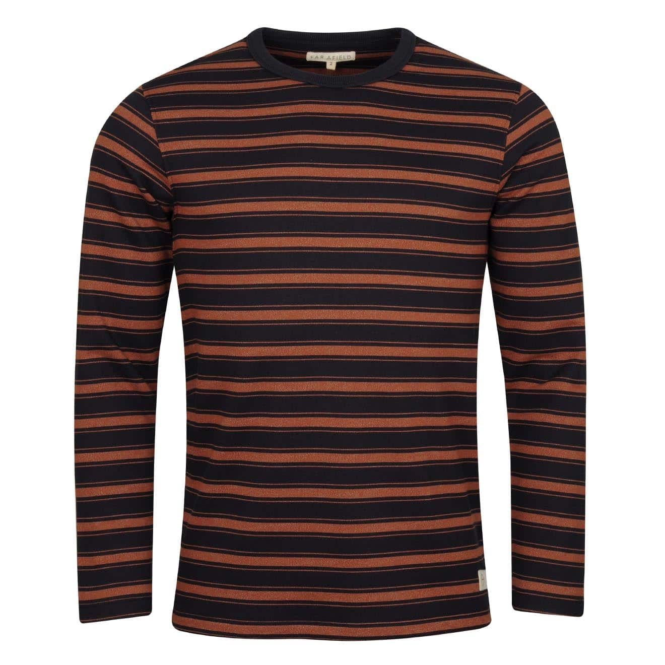 Far Afield L/S French Terry T-Shirt Navy