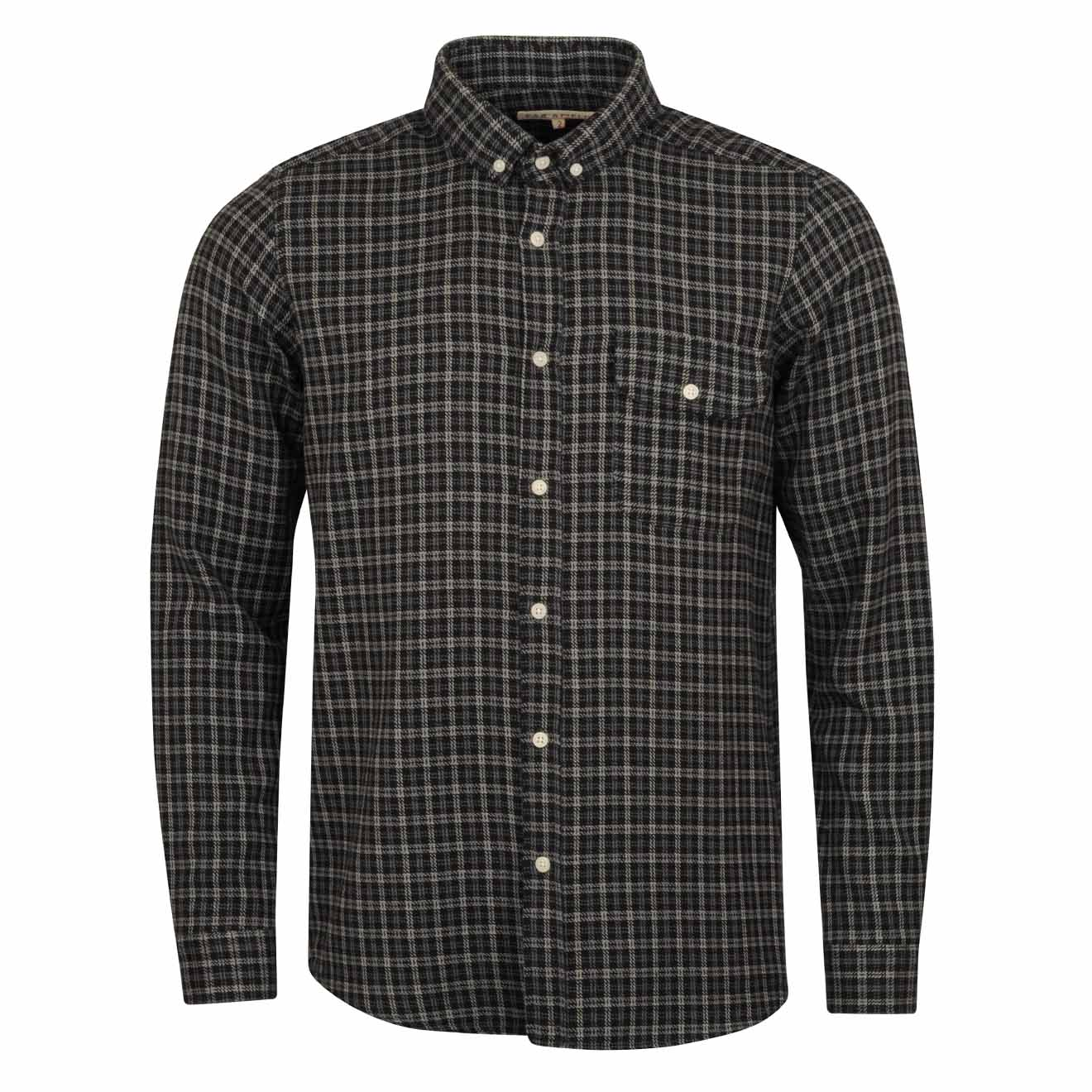 Far Afield Larry Flannel Shirt Saville Check