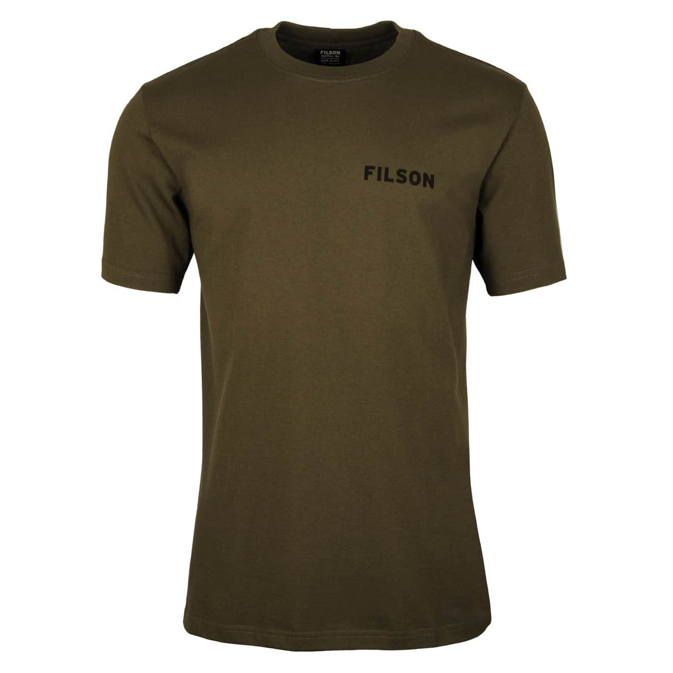 Filson Outfitter Graphic T-Shirt Otter Green 2