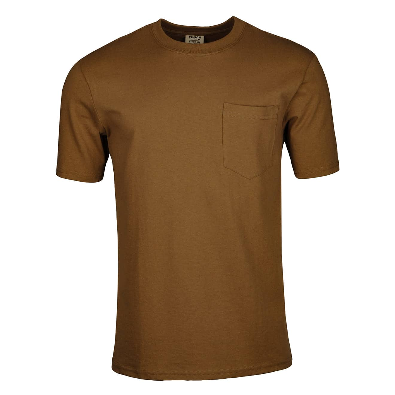 Filson Short Sleeve Outfitter One Pocket T-Shirt Rugged Tan