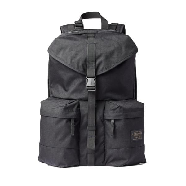 Filson Ripstop Nylon Backpack Black1