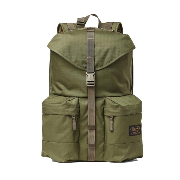 Filson Ripstop Nylon Backpack Surplus Green1