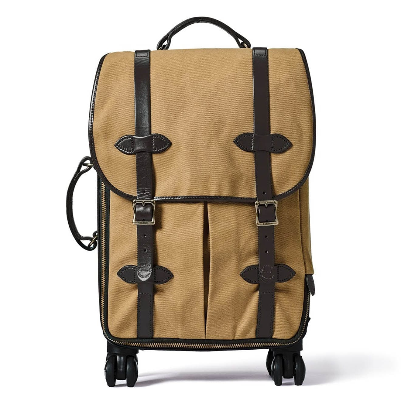 Filson Rolling 4-Wheel Carry-On Case Tan