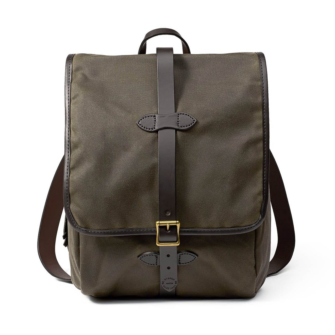 Filson Tin Cloth Backpack Otter Green