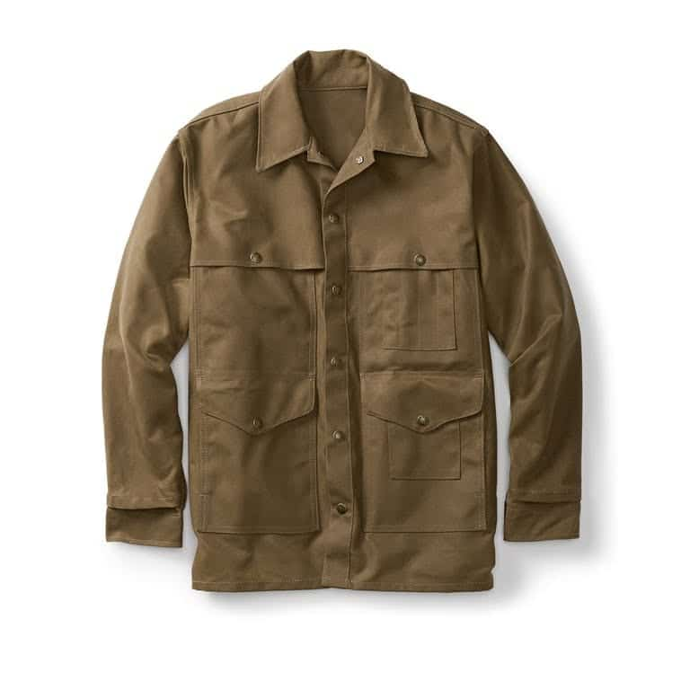 Filson Tin Cruiser Jacket Dark Tan-1