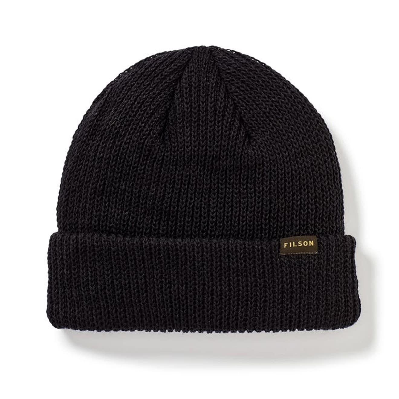 Filson Watch Cap Knitted Hat Black