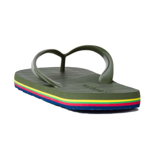 Paul Smith Dale Flip Flop Olive Green