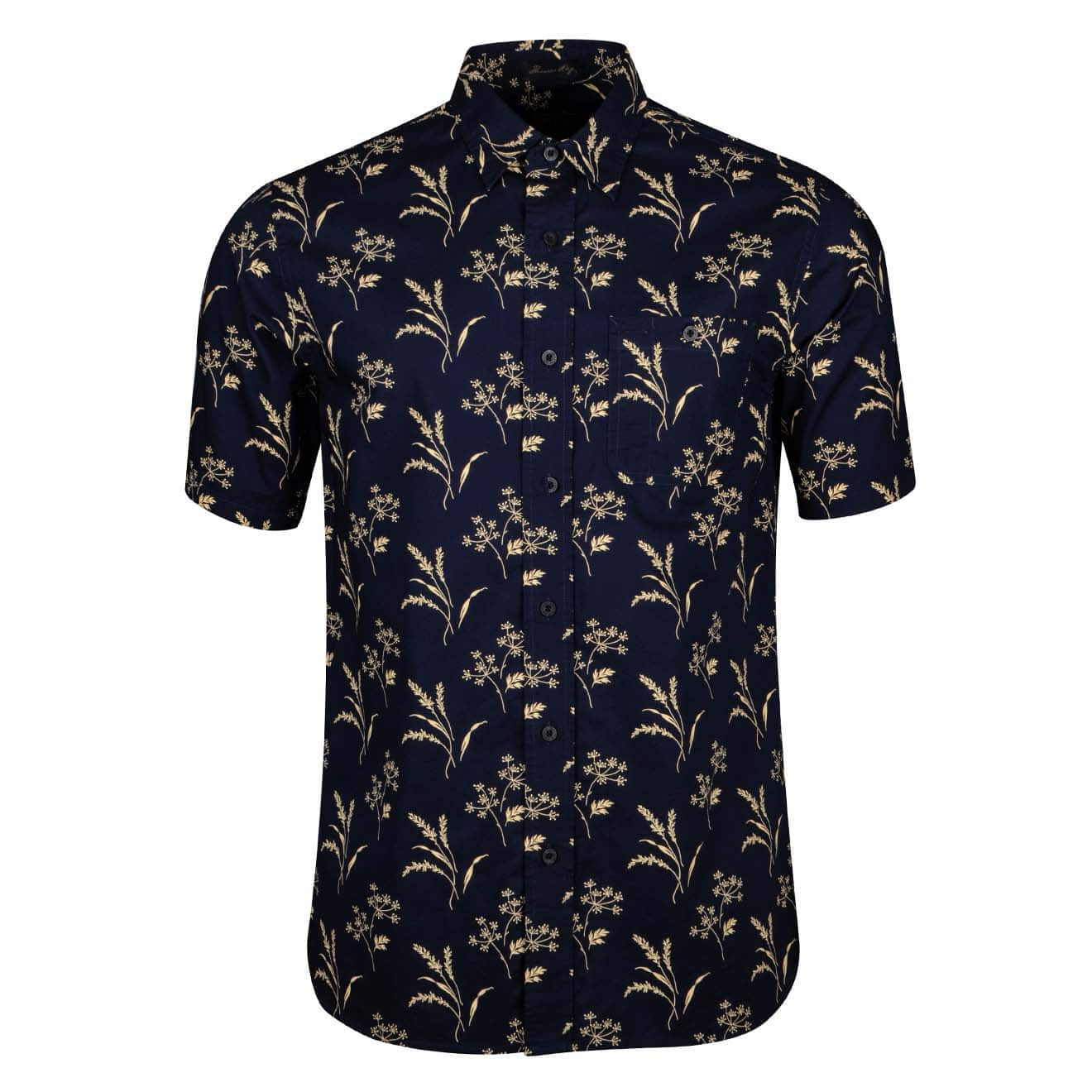 Pendleton Kay Street Print Fitted Short Sleeve Shirt
