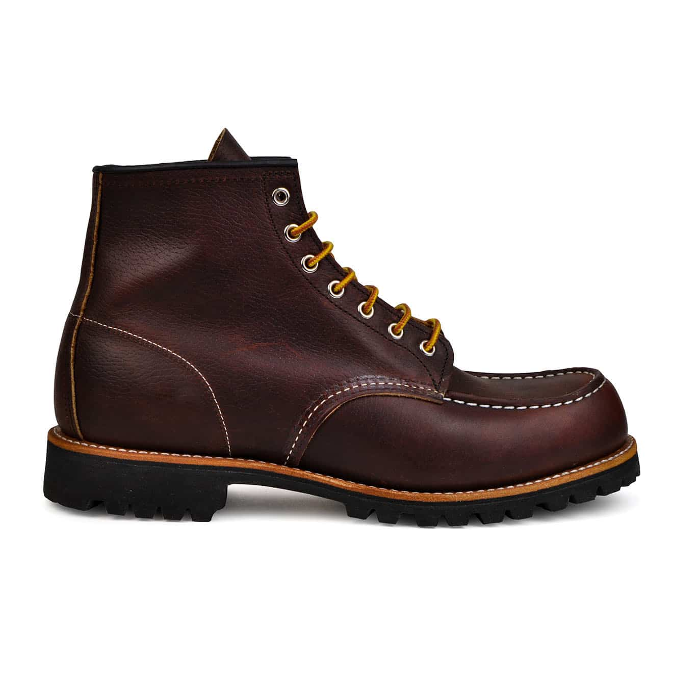 Red Wing Roughneck Boot Briar Oil Slick Leather